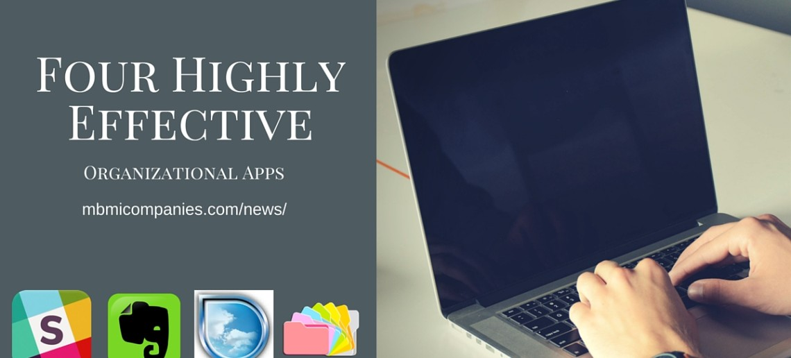 Four Highly Effective Organizational Apps