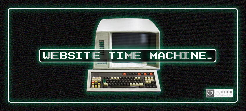 Website Time Machine