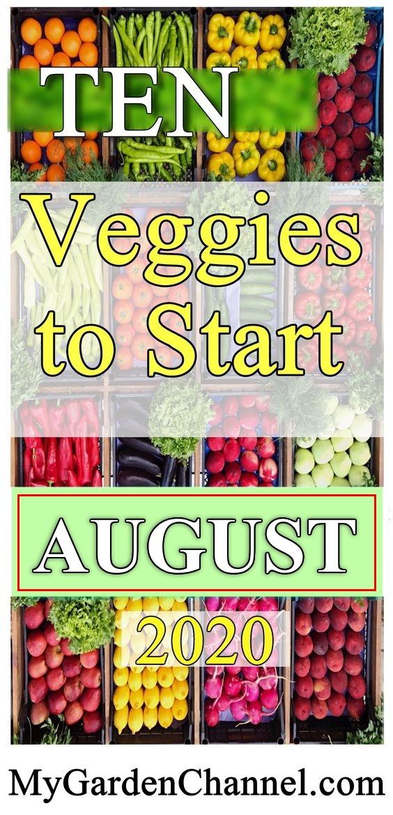 vegetables late season