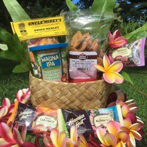 Snack basket from kauai