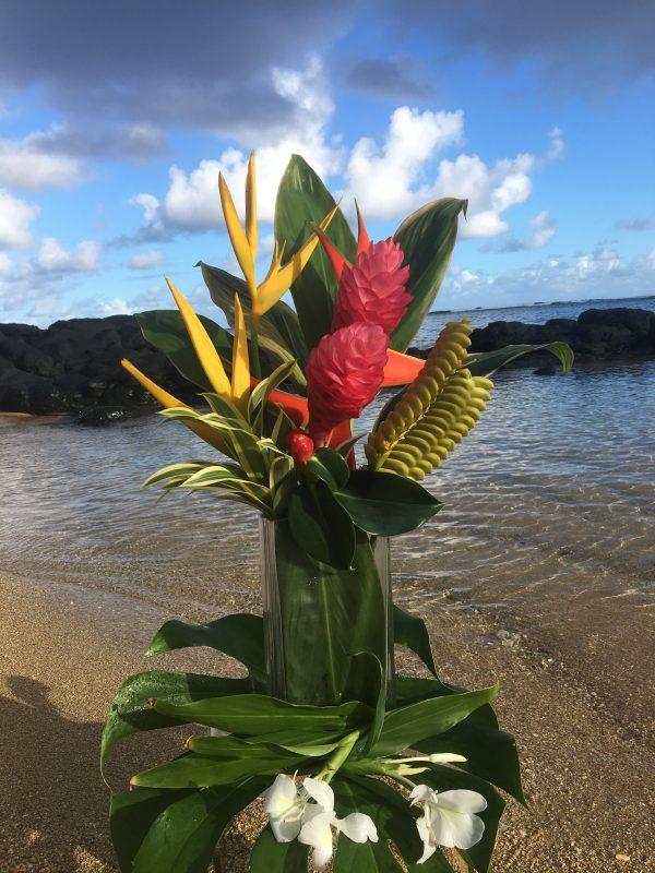 Niihau Flower Arrangement
