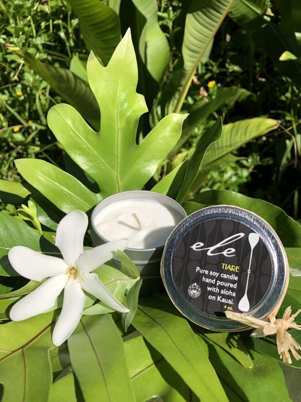 Ele Soy Candle Kauai Made