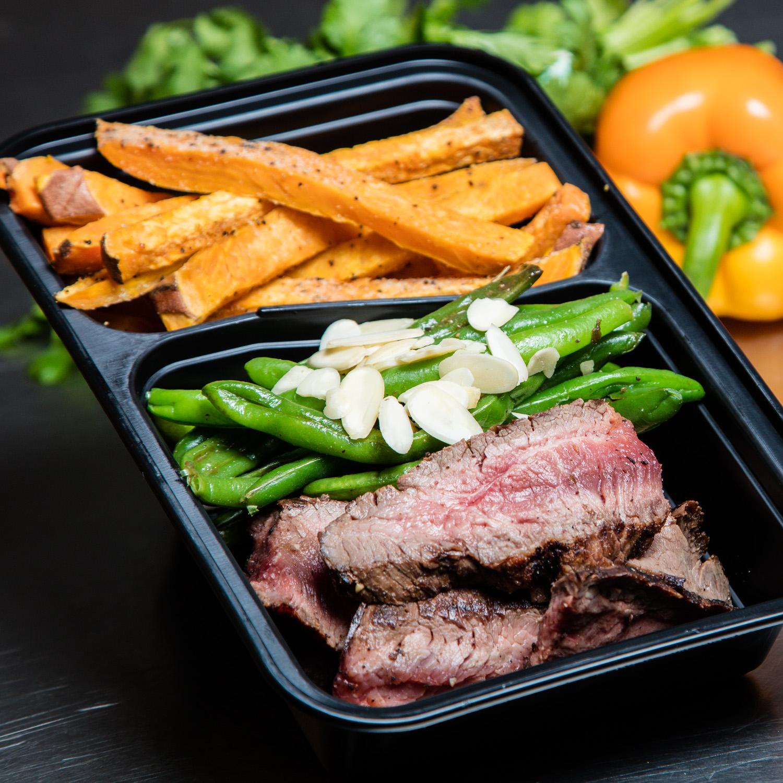 Steak & Sweet Fries