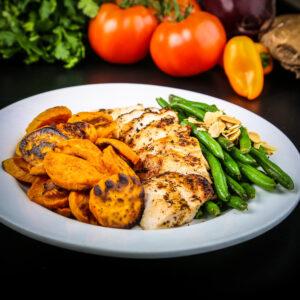 Chicken & Sweet Potatoes