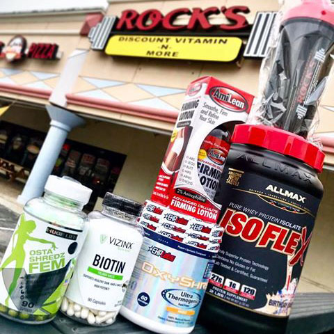 Rock's Product Outside Store