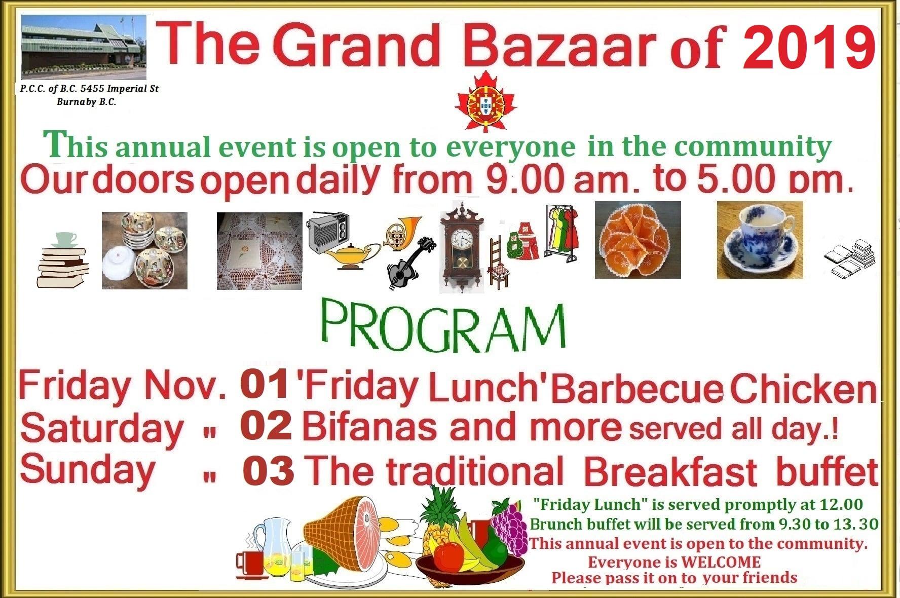 The Grand Bazaar of 2019