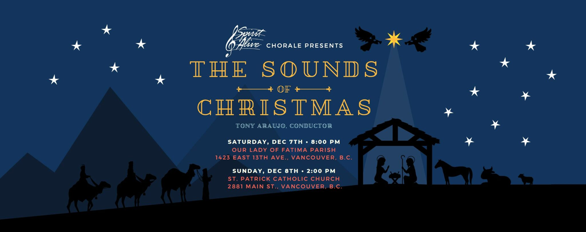 Spirit Alive Chorale, Sounds of Christmas