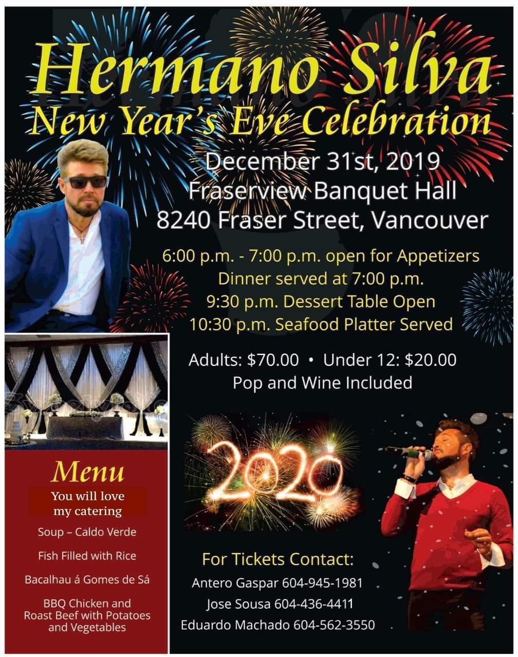 Hermano Silva New Year's Eve Celebration