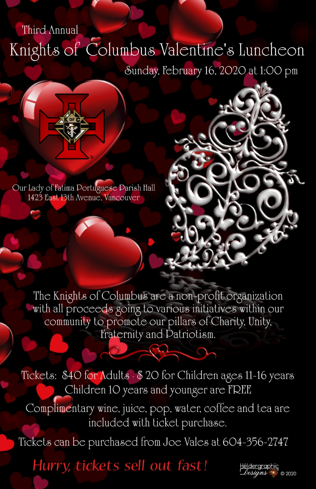 Third Annual Knights of Columbus Valentine's Luncheon