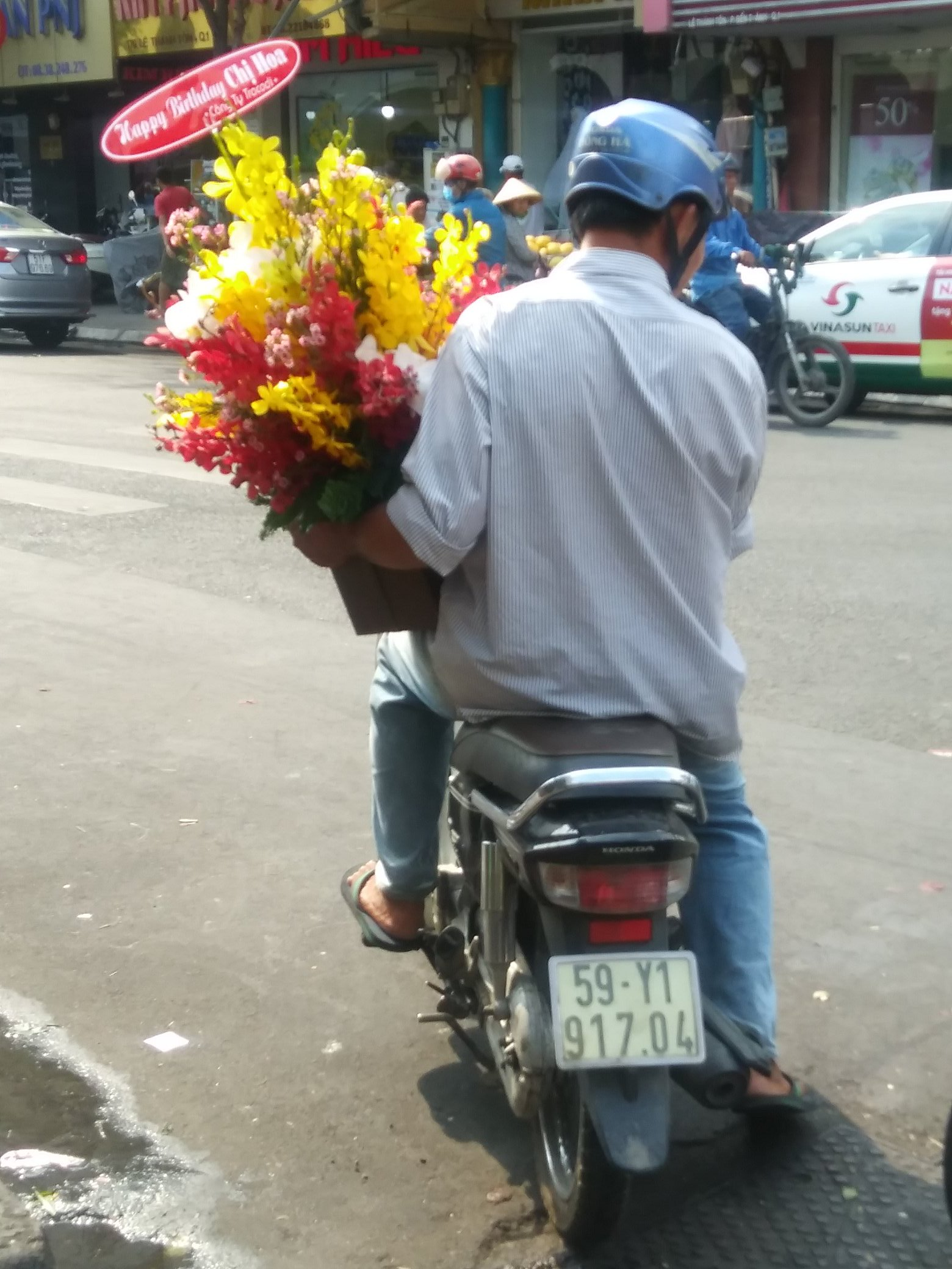 Orchids out for delivery