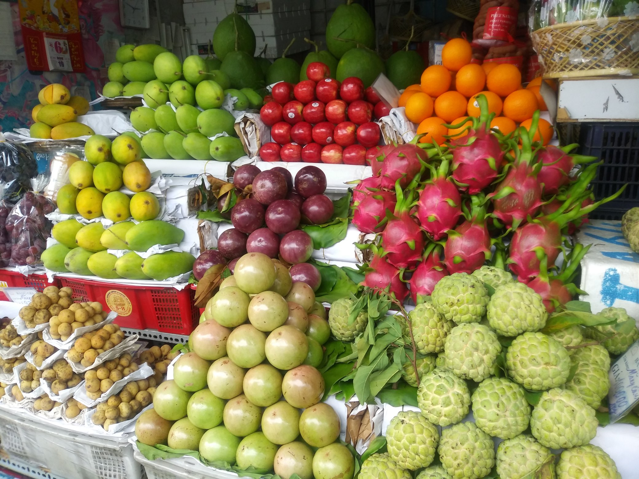 Apple custard, my favourite fruit