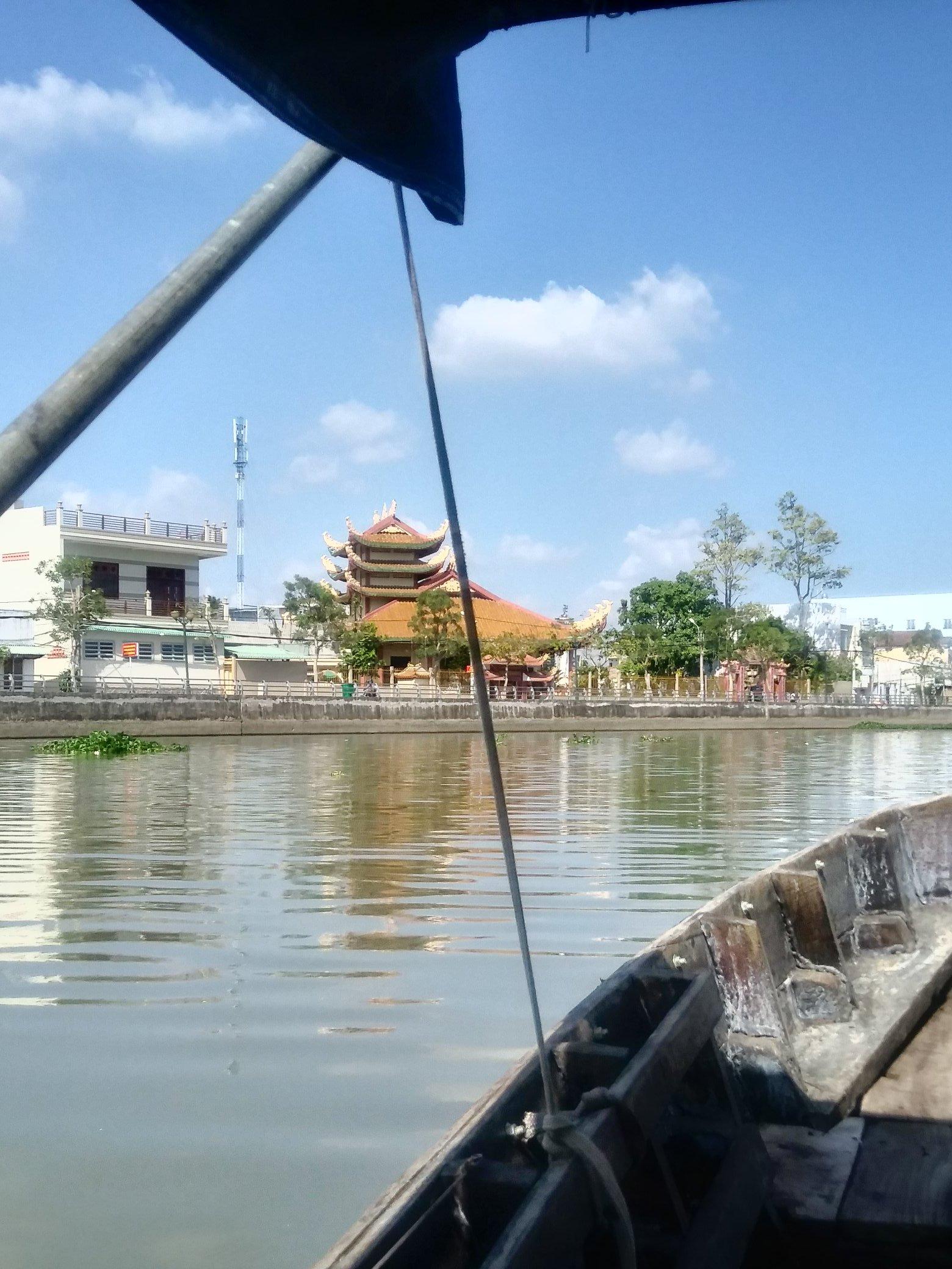 Along the Mekong river