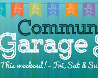 Annual Community-wide Garage Sale
