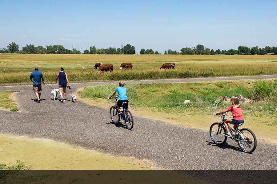 walk bike trails
