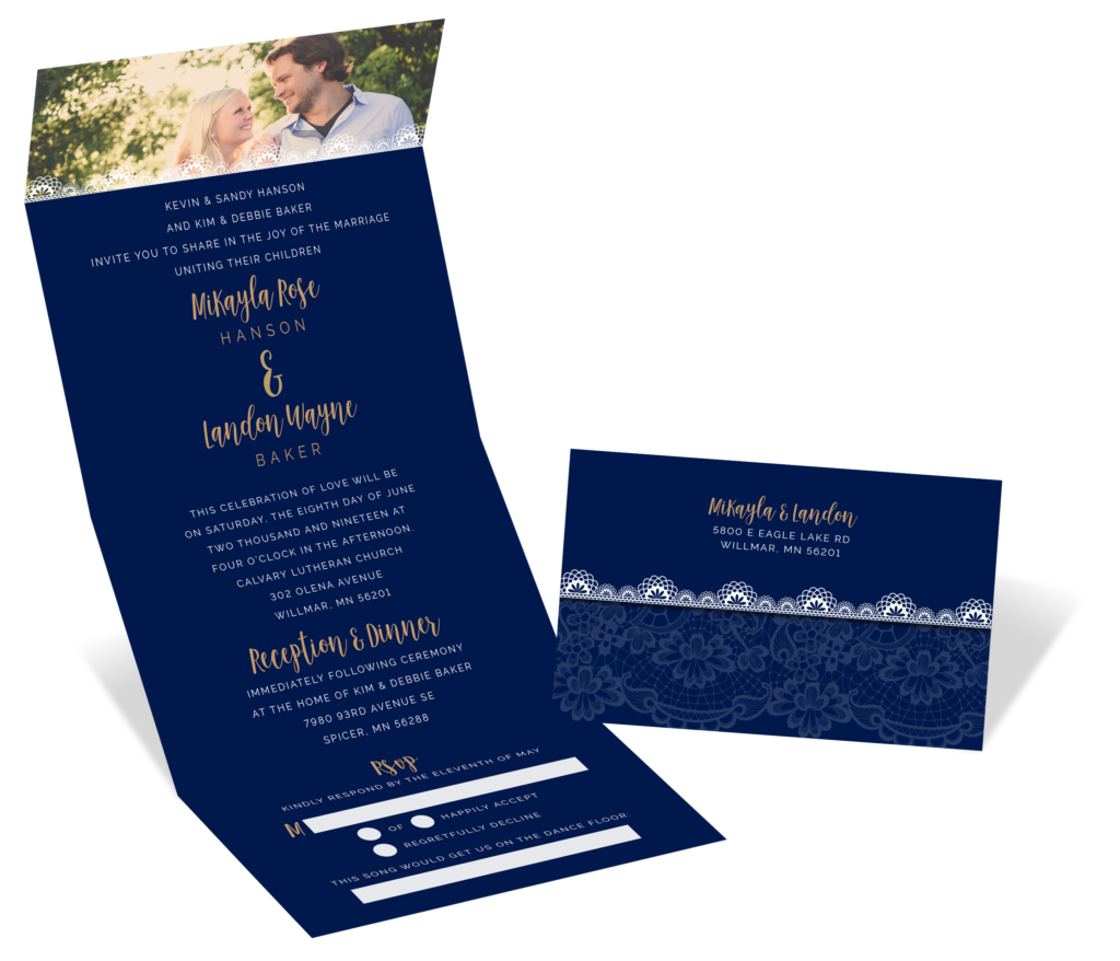 Blairsville Printing Wedding Invitations