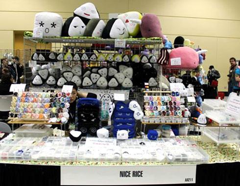 nicericeshop event booth