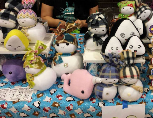 nicericeshop event booth toy snow babies