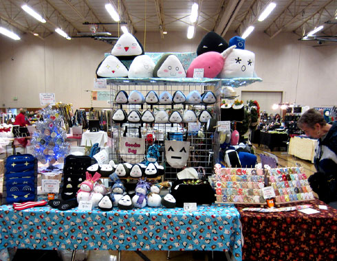 nicericeshop event booth toy geeky plush