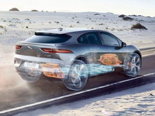 Jaguar Land Rover's new I-PACE.