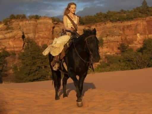 Dolores heads toward ... something in the Westworld finale.