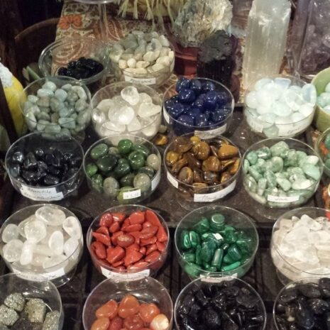 Stones inside the Golden Triangle Store