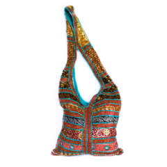 Cross Body Bag Colorful Handmade