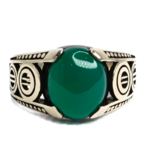 Jade Metal Ring