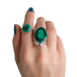 Malachite Rings