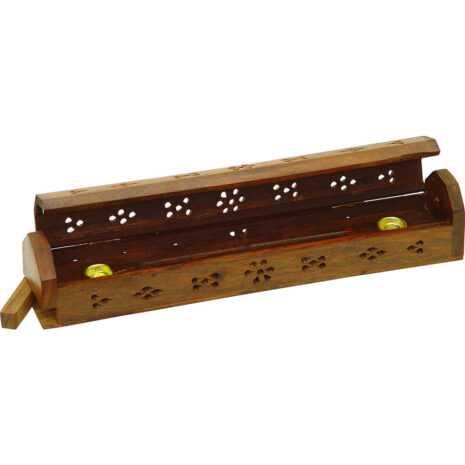 Wood Incense Box Storage