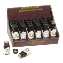 Aroma Oils prepared with Essential Oils