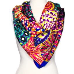 Multi Color Printed Scarf