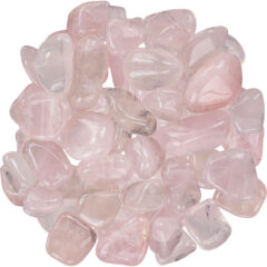 Rose Quartz Tumbled Stones