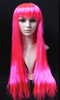 N – Straight Hot Pink