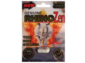 1 Pack – Rhino Male Enhancement Pill