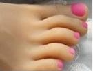 3 – Pink Toenails
