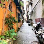 はっとする路地、ぞっとする路地。|台北生活の日記