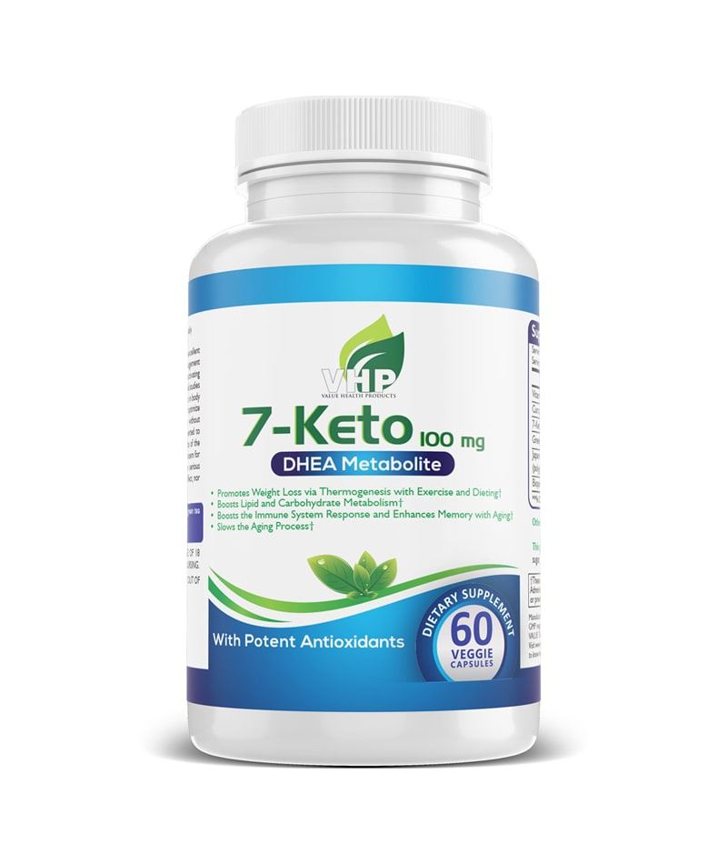 7-Keto DHEA Metabolite with Antioxidants
