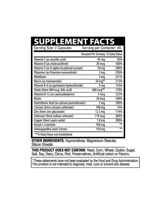 vitality health and wellness supplements Facts