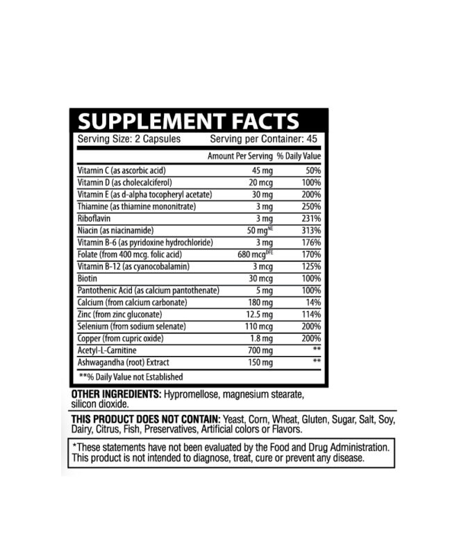 vitality and wellness supplements Facts