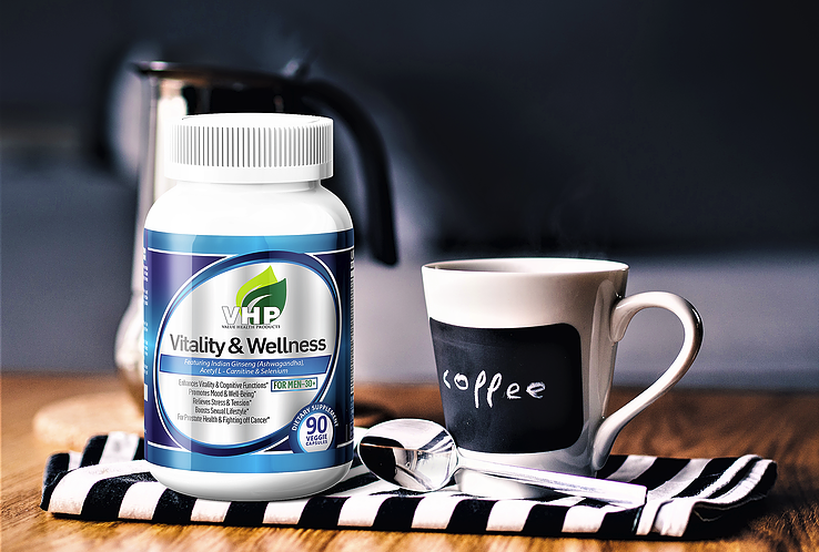 Enjoy Optimal Health with our Vitality & Wellness Dietary Supplement for Men 30+
