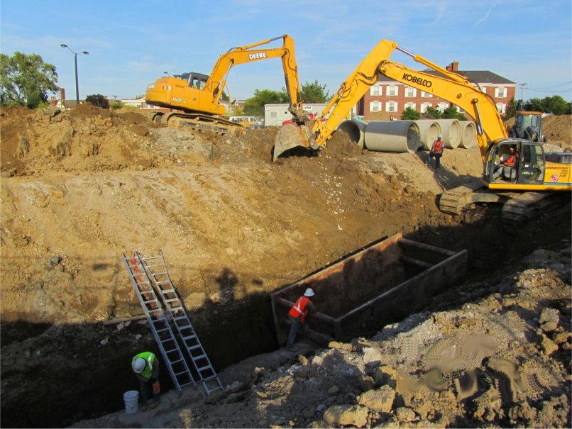 Excavation_sewer_utilities