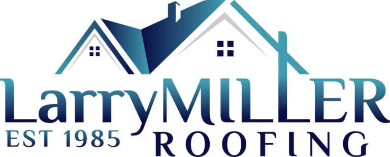 Larry Miller Roofing Company Logo