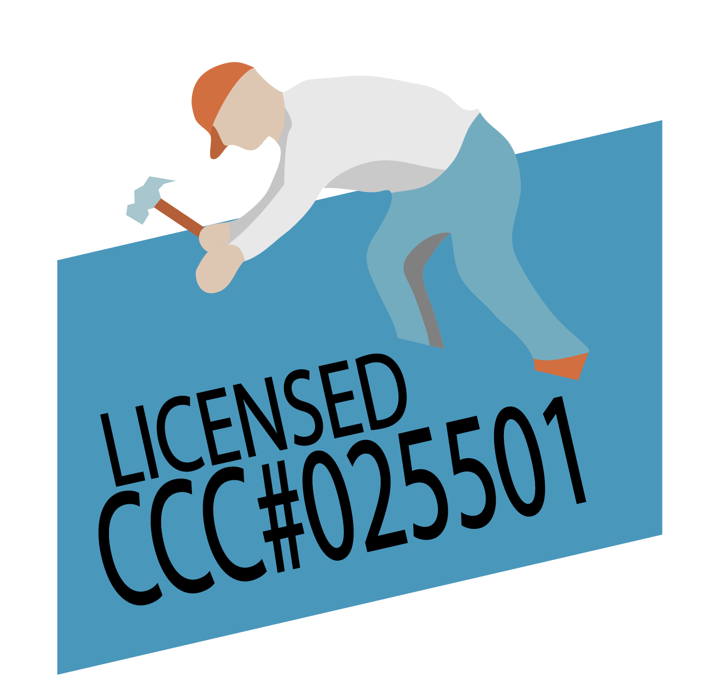 We keep up to date on zoning laws, building permit requirements and homeowners association guidelines. We get the job done on time and within your budget. License #CCC025501