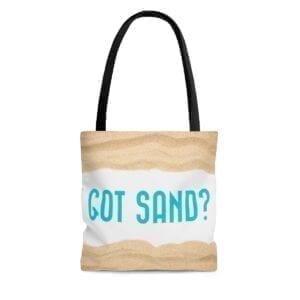 got sand tote bag