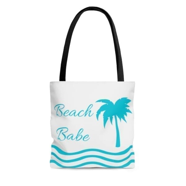 beach babe tote bag