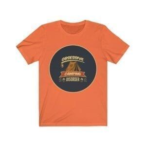 obsessive camping disorder mens tshirt