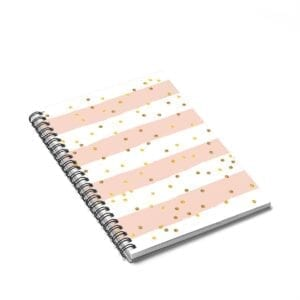 Confetti Spiral Notebook - Ruled Line