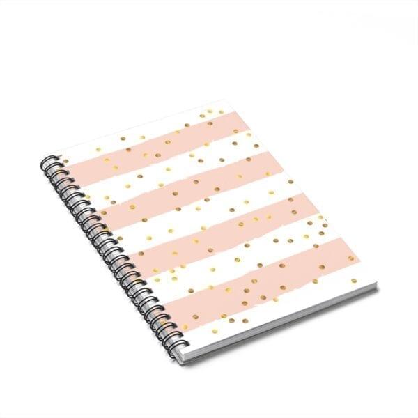 Confetti Spiral Notebook - Ruled Line