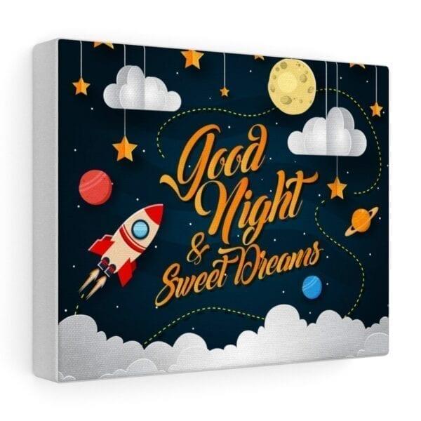 good night and sweet dreams wall art