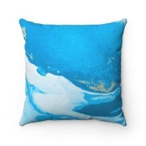 Colorful Spun Polyester Square Pillow